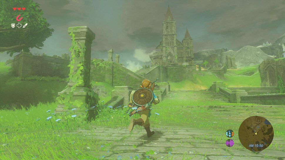 Breath of the wild exploration