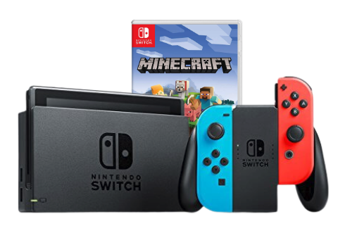 Nintendo Switch Minecraft Bundle