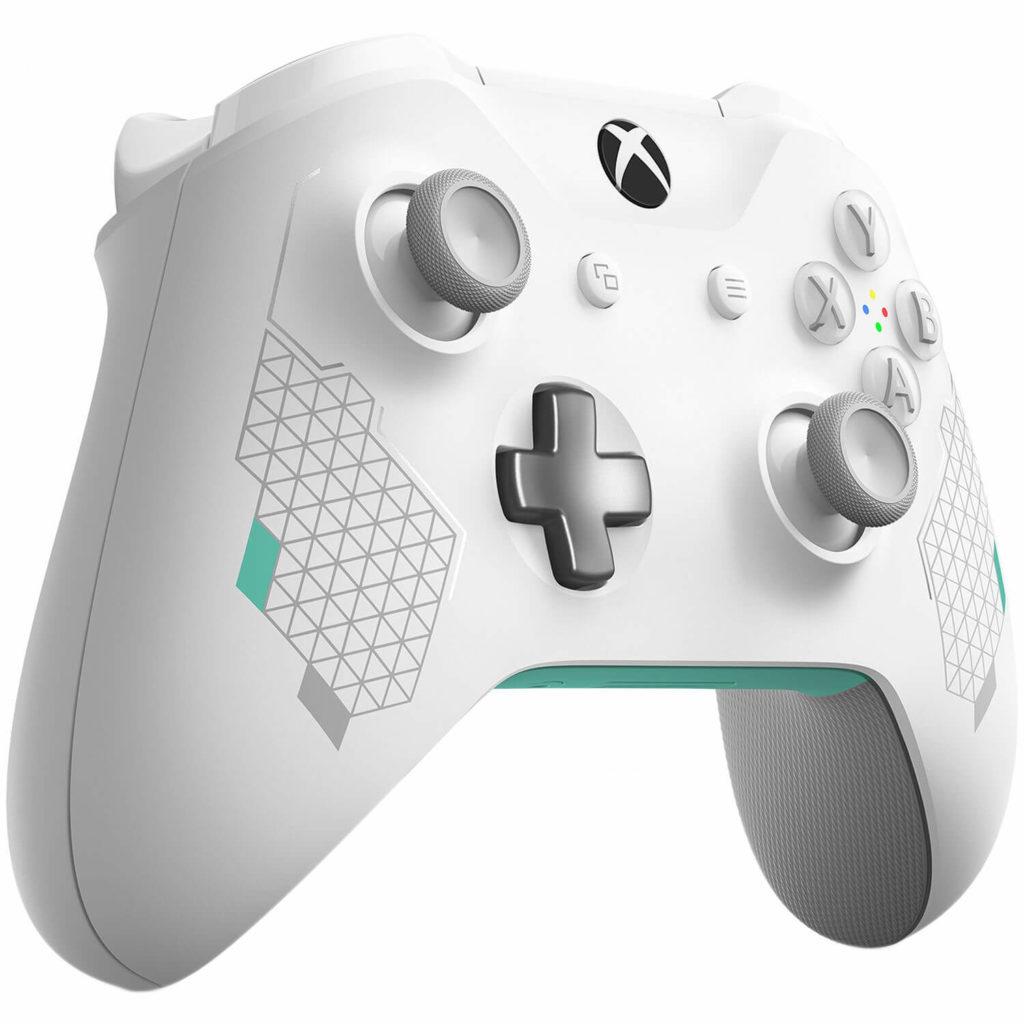 Sports White Xbox One controller