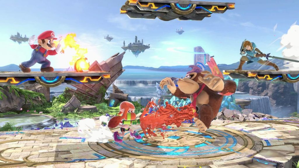 Smash Bros inkling