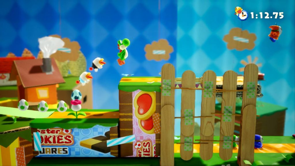 Yoshi crafted World behind the scenes